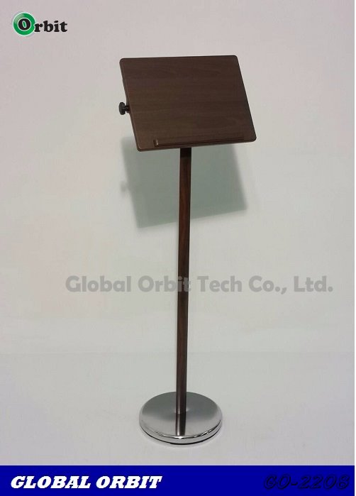 Wooden teacher table adjustable menu floor holder stand for Floor 6 reloaded menu