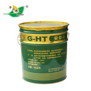 Hua Run Jie G-HT 3# super lithium-based Extreme Pressure Grease iron drum super car grease 15kg