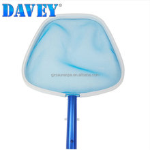 Economy heavy duty plastic pool accessories telescopic pool skimmer for inground and above ground pools