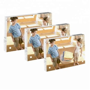 4x6'' Acrylic magnetic picture frame acrylic photo frame