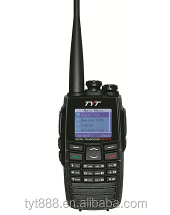2014 new design DM-UVF10 2.4ghz digital wireless walkie talkie with gps