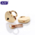 AJF Mini Love Heart Lock Key for Luggage Handbag Gold padlock
