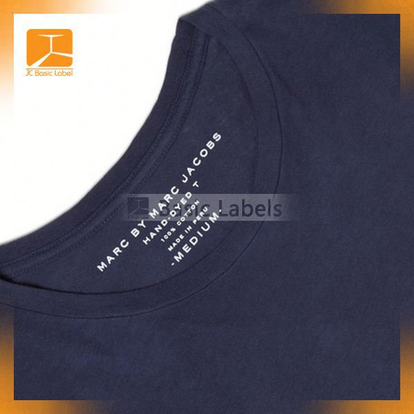 heat transfer label series of letters/numbers