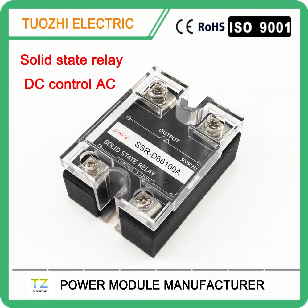 High Power Ac Solid State Relay 100a 660vac Single Phase Dc To There Are Relays And Ssr D66100a Buy Relay100a Relay660vac