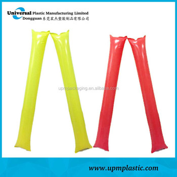 One time use promotional degradable Disposable inflatable thunder stick