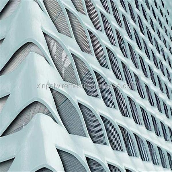 Hot Sales Decorative Aluminum Expanded Metal Mesh Panels (china ...