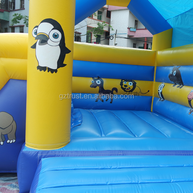 Beatiful hot sale kids bouncy castles inflatables china