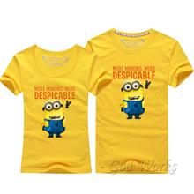Dámské a pánské tričko s potlačou Mimonov z Aliexpress