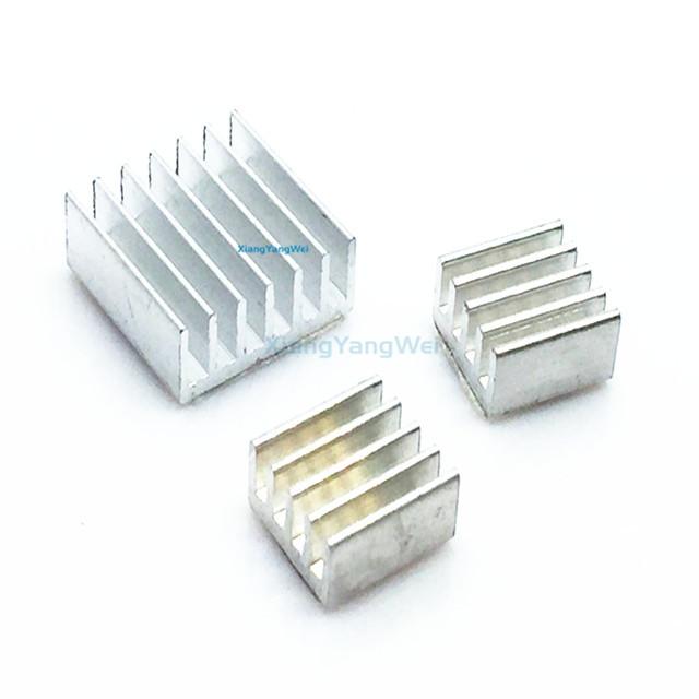 Protect OverClocking for Raspberry Pi 3 3PCS Aluminum Heatsink Set 2 B B+