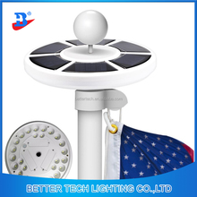 Solar Light Outdoor Upgraded 26led Factory Manufacture Solar Flagpole Light