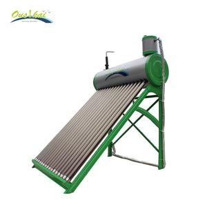 2018 New Design low pressurized solar water heater geysers
