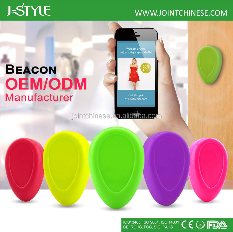 J-Style Low Engergy Smart BLE 4.0 ibeacon bracelet with different color option