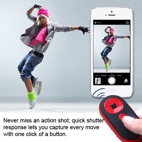Bluetooth remote control self-timer for iOS Android