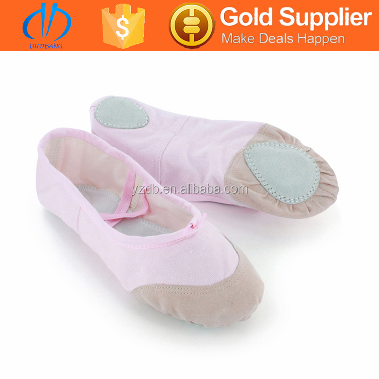 Hot Selling Nude Leather Sole Dance Shoes Women