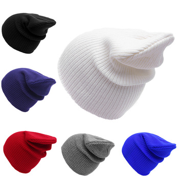 Custom Made Knitted Winter Hat Beanies With Embroidery Logo - Buy ... a7c98d3b8045