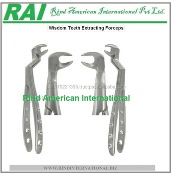 Wisdom Teeth Extraction Forceps Set Teeth Extraction Forceps Tooth Forceps For Upper Wisdom Teeth View Tooth Forceps Teeth Forceps Extraction Forceps Teeth Extractions Extractions Of Tooth Teeth Extraction Way Rind American International Product Details