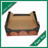 FRESH FRUITS ONE PIECES FOLD CORRUGATED TRAYS 5 LAYER CUSTOMIZED