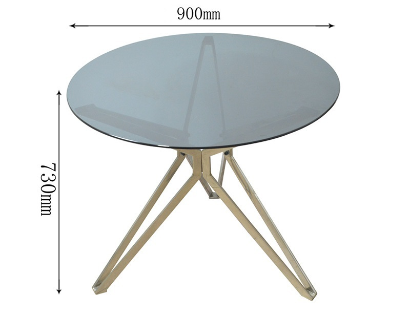 Modern Style Living Room Stainless Steel Coffee Table Buy Stainless Steel D