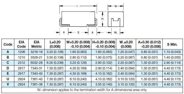 Tajd107k016rnj Avx 107 Smd Tantalum 100uf 16v Capacitor