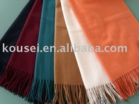 100% Cashmere Solid color Scarf /Shawl