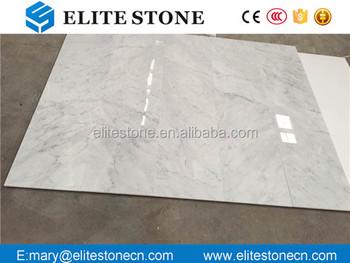 Pavimento Bianco Lucido Prezzo : Lucido pavimento di piastrelle italia bianco carrara marmo prezzi