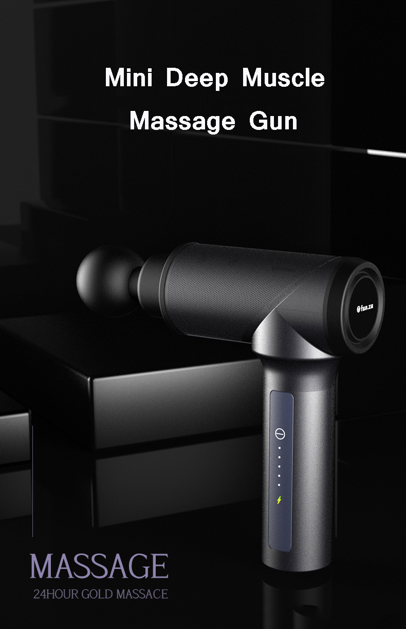 New body handheld cordless deep muscle tissue vibration massage fascia gun OEM body massage vibrator professional