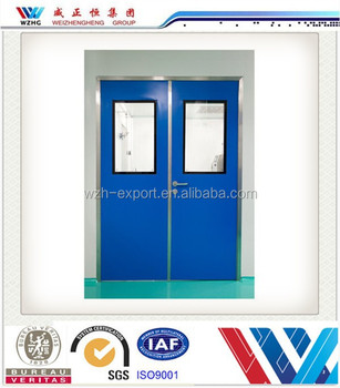 Cleanroom Aluminum Sandwich Panel Door Aluminum Window And Door
