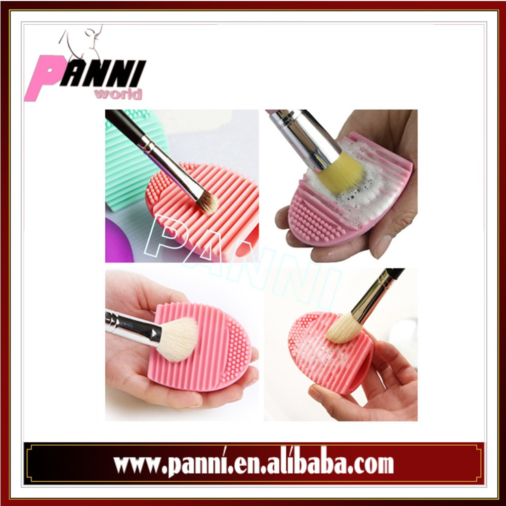 Professional silicone brushegg brush cleaning egg,makeup brush cleanser tools
