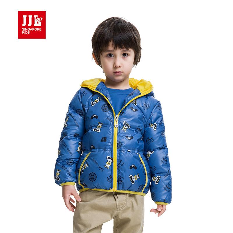 2015 new arrival winter jacket for boys detail hooded coat high dust inside keep warm windproof