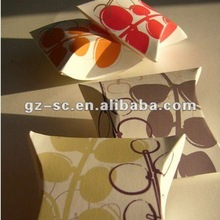 2012 new style lovely pillow gift box
