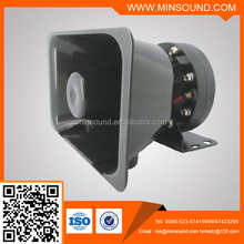 Police Vehicle electronic siren speaker 12/24V 80W-200W