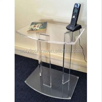 2017 High Quality Acrylic Tv Table, Modern Design Secretaire, Acrylic  Furniture