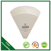 best selling high qualit white kraft paper crepe cone holder