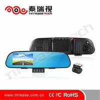 4.3 Inch Factory Wholesale dual camera car dash cam reviews