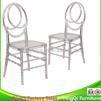 Clear Polycarbonate Wedding Phoenix Chairs