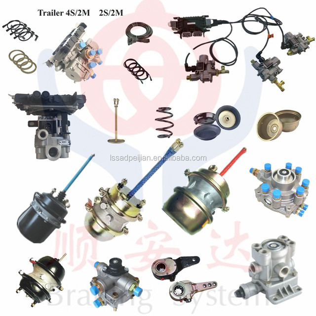heavy duty truck parts daf/renault/man/iveco/volvo truck spare parts,trailer brake system,brake chamber with TS16949,