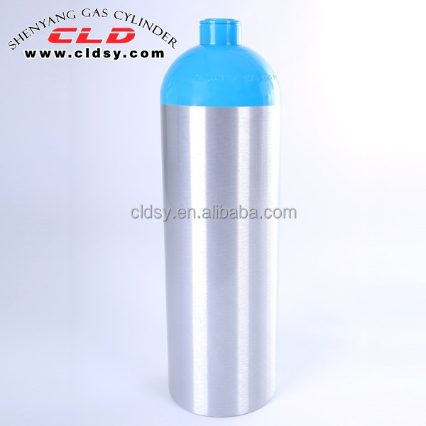 Chinese factory aluminum air carbon dioxide tank
