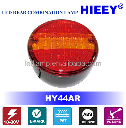 E-MARK LED Hamburger LED Trailer Tail LightLED Tail Lamp IP67 truck tail light