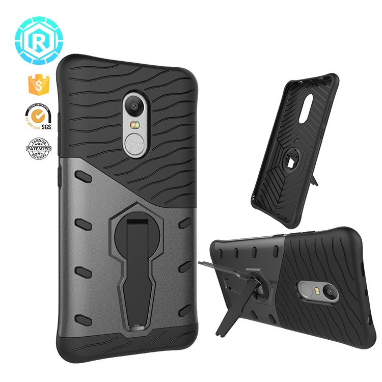 Roiskin patent tuffen tpu pc hybrid armor case for xiaomi redmi note 4x cover