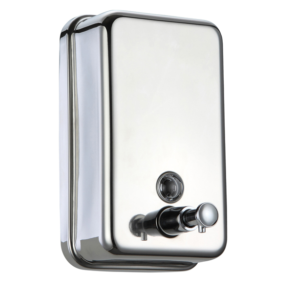500ml 800ml 1000ml 1200ml 1500ml Manual stainless steel soap dispenser wall mounted