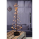 Plastic Led String Lights Copper Wire Tree For Christmas