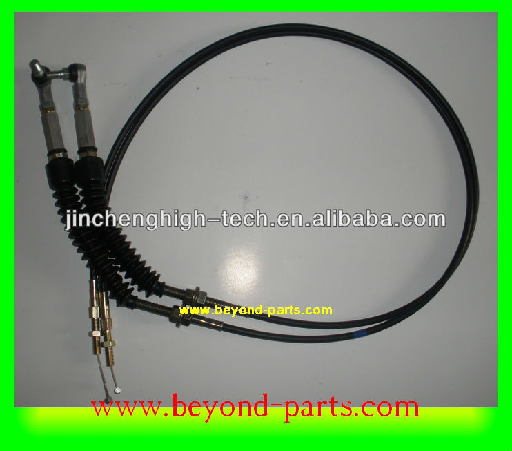 E320c throttle motor cable dual for excavator