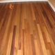 Various Veneer Thickness Brazilian Teak Wood Engineered Flooring Handscraped UV Coating
