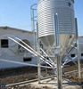 Complete pig farming production line poultry feed silo for sale