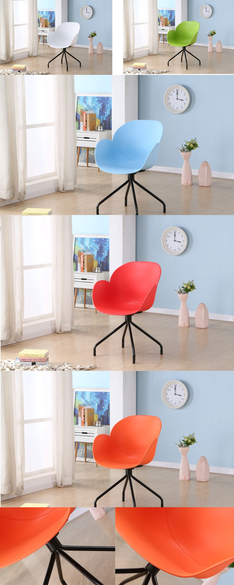 manufacture dining room Furniture Plastic Chair