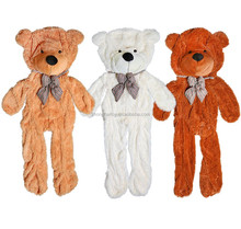 Free sample 1pcs Wholesale free sample Unstuffed Plush Animals giant teddy bear 200cm skin without sutffed/unstuffed teddy bear