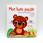 L 2019 hot Hardcover English children cartoon Puzzle Lift And Flap Board Book Printing