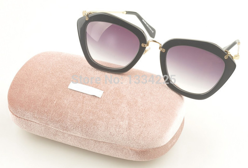 Women Designer Brand Sunglasses SMU10NS Madonna&Miranda Kerr Same Style Cat Eye 10ns Sunglasses Acetate Lens Women Sunglasses