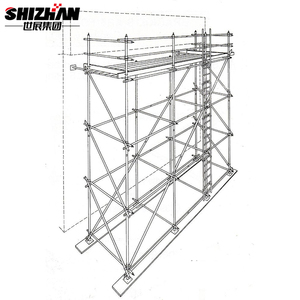 Hot Sell used aluminum scaffolding machine