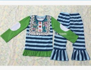 2017 New Fashion Baby girl Clothes Persnickety Fall Persnickety Halloween Boutique Outfits Remake Children Clothing kids sets